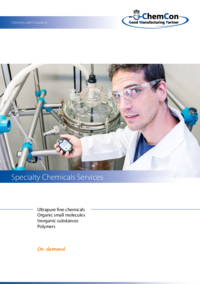 ChemCon Company Brochure Specialty Chemicals