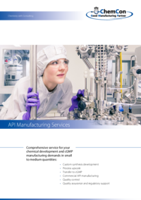 ChemCon Company Brochure API Manufacturing